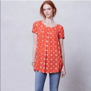 Anthropologie Holding Horses Pocket Tunic Top
